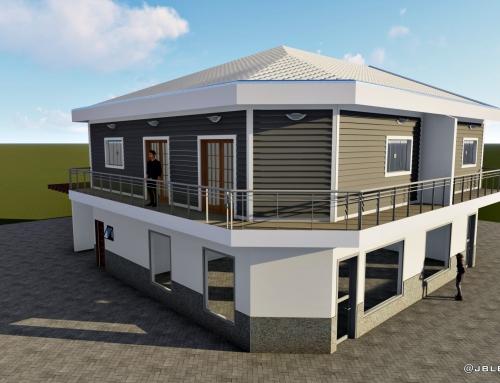 SOBRADO COMERCIAL E RESIDENCIAL – 320M²
